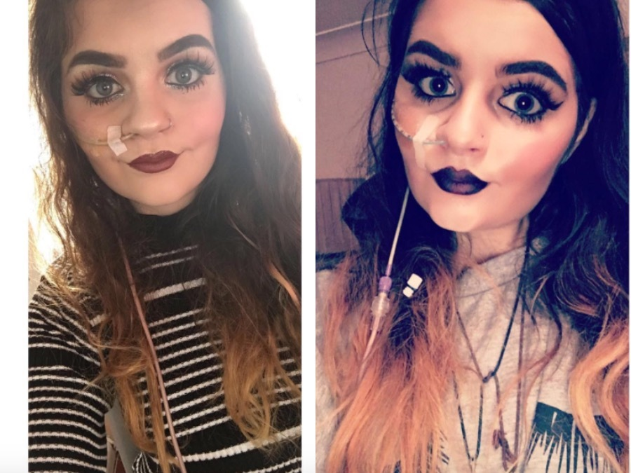 This Aspiring Makeup Artist's Illness Isn't Standing In The Way Of Her Dreams