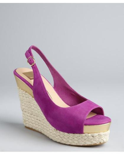 Colorful Espadrille Wedges We Love