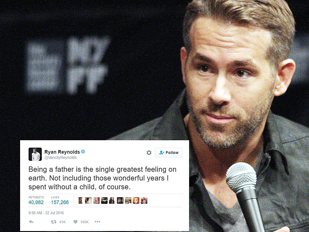 20 Times Ryan Reynolds Said Exactly What All Parents Think