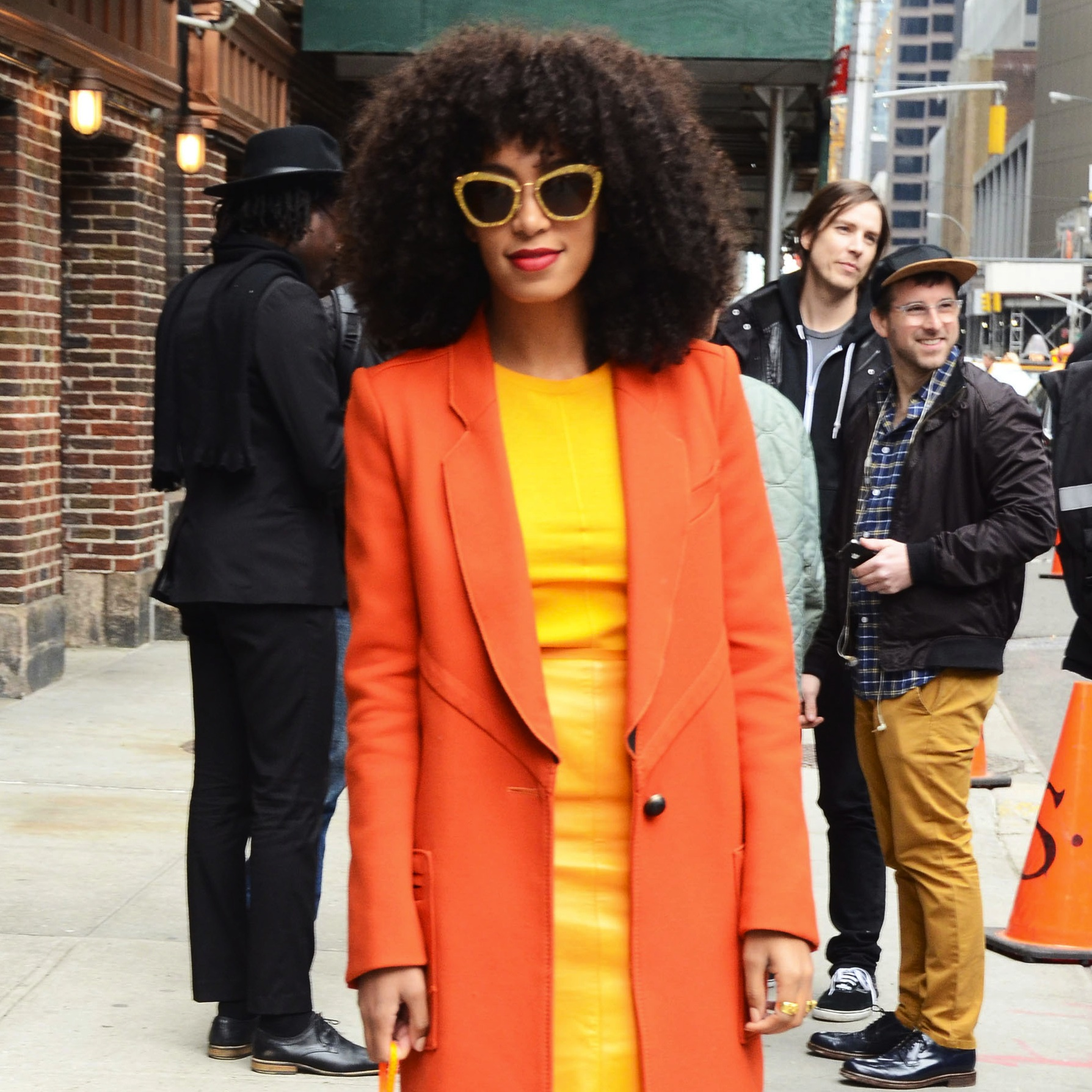Get the Look: Solange Knowles Rocks Bright Colors