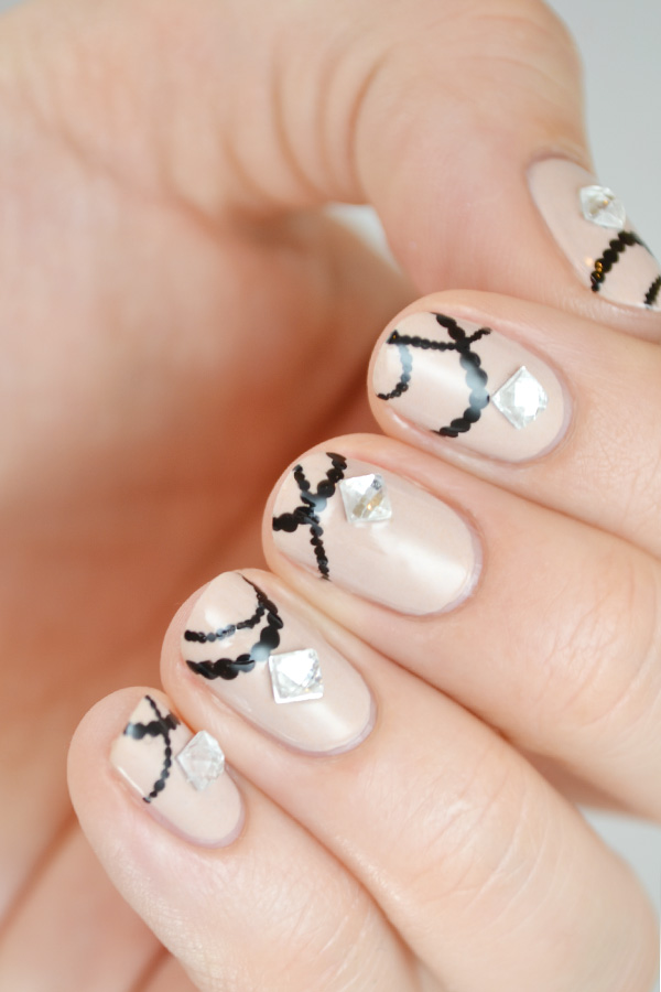 Spring Bling Nail Art: Jewelry for Your Fingers - More