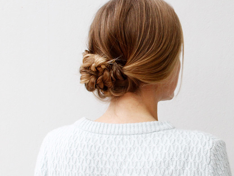 An Easy Braided Hairstyle For Any Occasion More