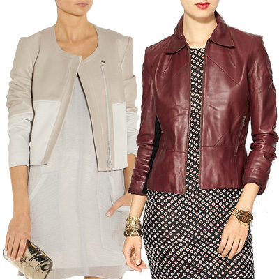 Leather Jackets: Four Perfect-for-Fall Looks
