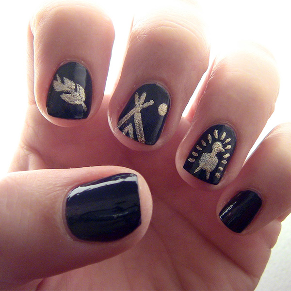 Feast Your Eyes on This Thanksgiving Nail Art
