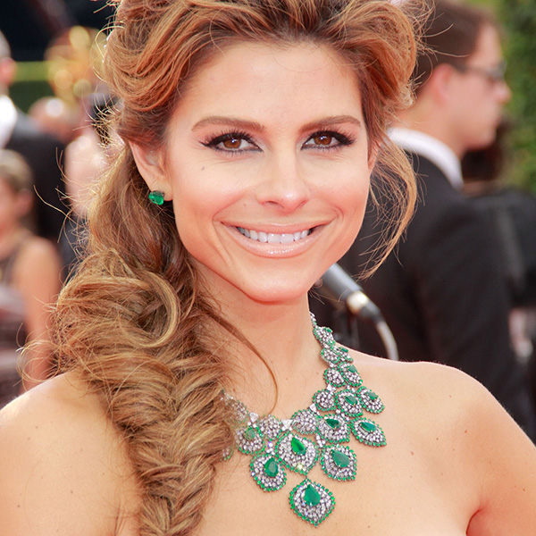 Holiday Hairstyle: Maria Menounos Tousled Fishtail Braid