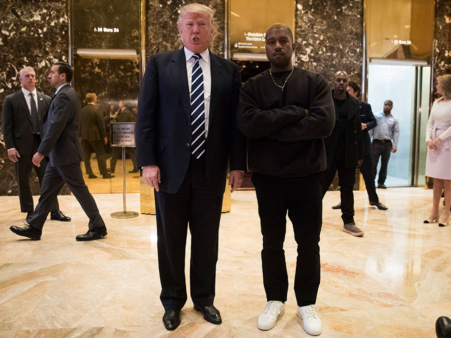 Donald Trump Body Shamed Kim Kardashian Twice, But Kanye West Is Still His BFF