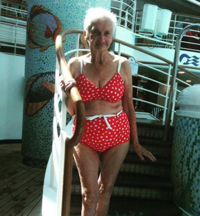 Meet the 90-Year-Old Woman Who Proves That You're Never Too Old to Wear A Bikini
