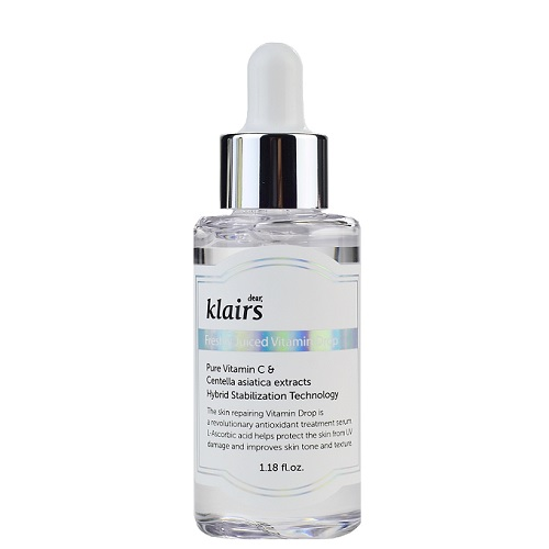 bottle of klairs vitamin C serum on amazon