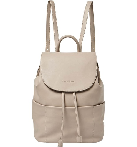 gray colored leather backpack from nordstrom anniversary sale