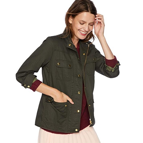 green field army jacket from j crew mercantile amazon