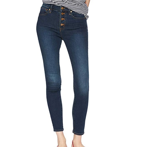 high waist skinny jeans from j crew mercantile amazon