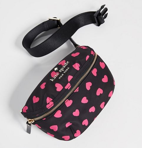 kate spade fanny pack with hearts