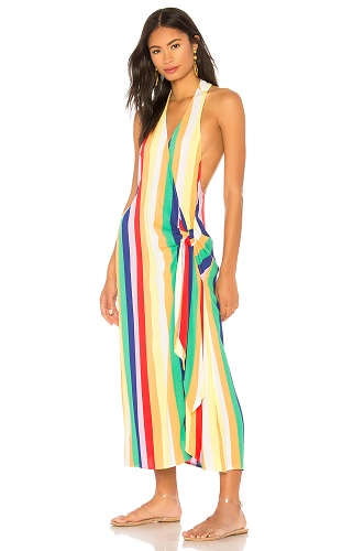 kendall and kylie wrap dress