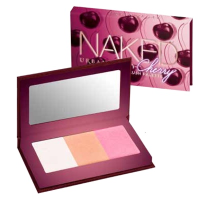 urban decay naked cherry blush and highlighter palette