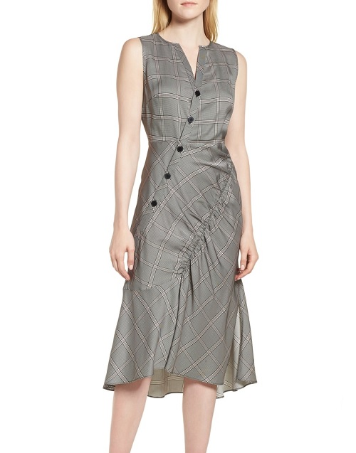 nordstrom anniversary sale early access button front dress