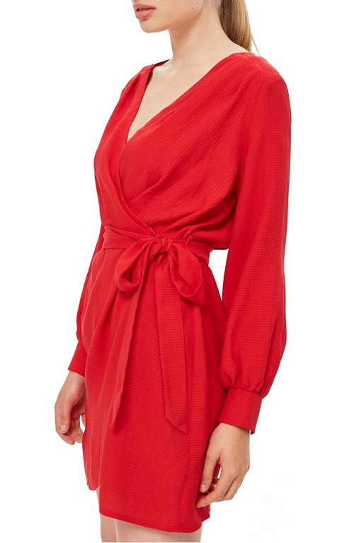 nordstrom anniversary sale early access topshop wrap dress