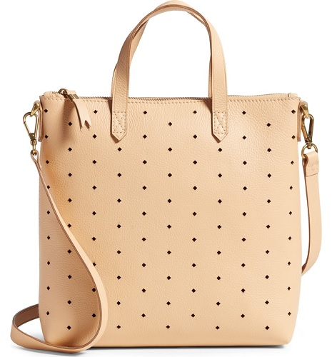 madewell leather tote from the nordstrom anniversary sale