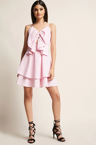 pink dress forever 21 academy awards trend