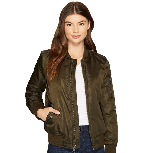 zappos sale levi's bomber jacket in army green