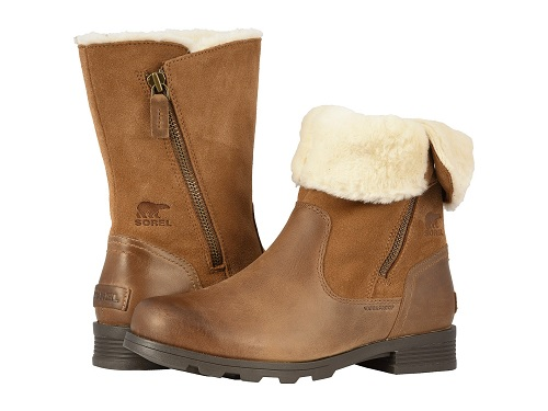 zappos sorel shearling boots on sale