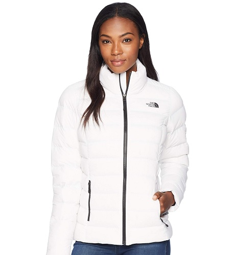 zappos sale white the north face winter jacket