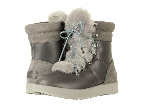 ugg winter boots at zappos in gray