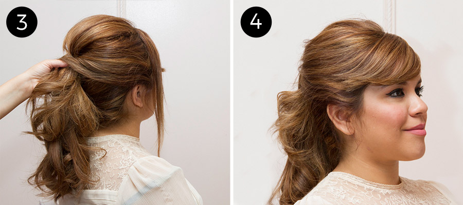 Sexy Double Ponytail Hairstyle
