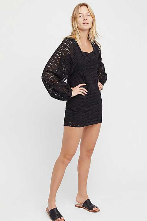 Free People Lovey Dovey lbd