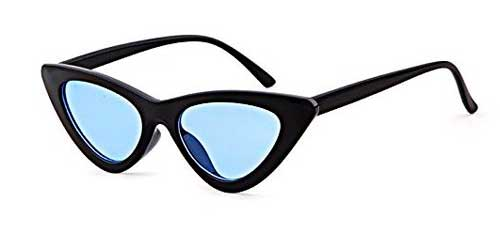 blue lens clout goggles cat eye sunglasses from amazon