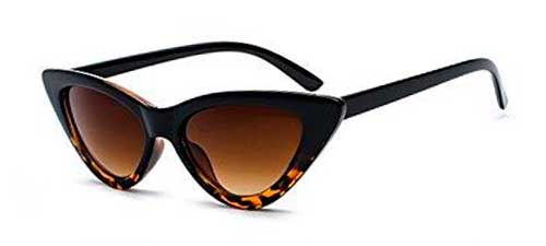 gradient leopard clout goggles cat eye sunglasses from amazon