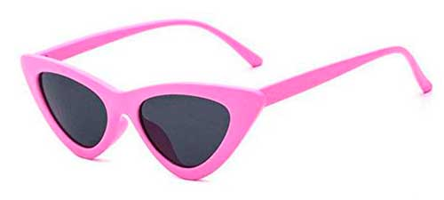 pink clout goggles cat eye sunglasses from amazon