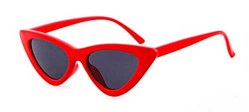 red clout goggles cat eye sunglasses from amazon