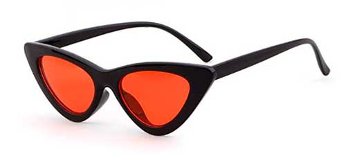 red lens clout goggles cat eye sunglasses from amazon