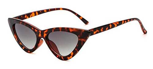 leopard clout goggles cat eye sunglasses from amazon