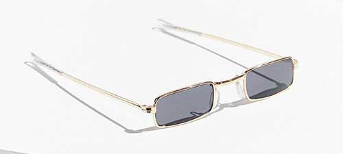 Vintage As If Slim Sunglasses from Urban Outfitters