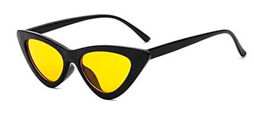 yellow lens clout goggles cat eye sunglasses from amazon