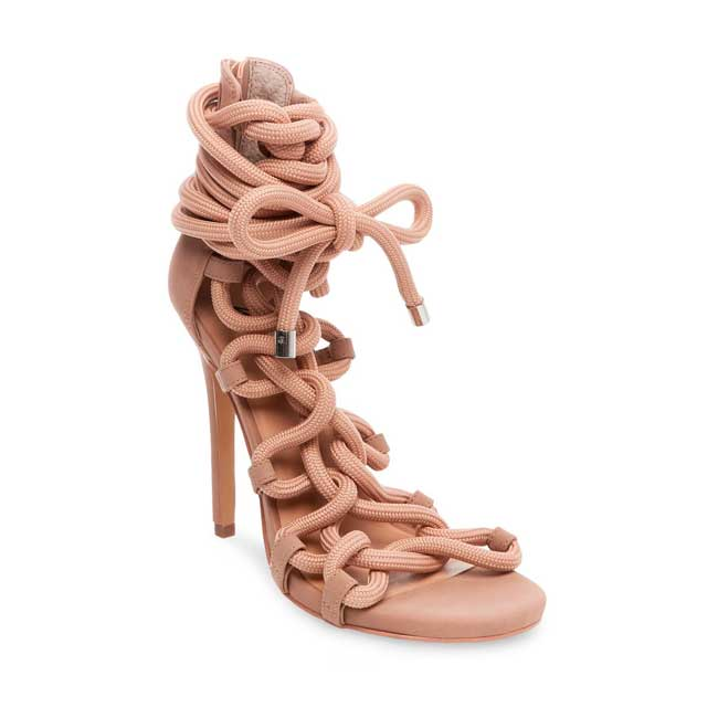 Wild Pair Missme Knotted Tie Front Gladiator Sandals from Target