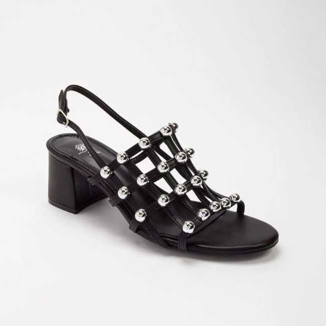Forever 21 Studded Caged Sandals