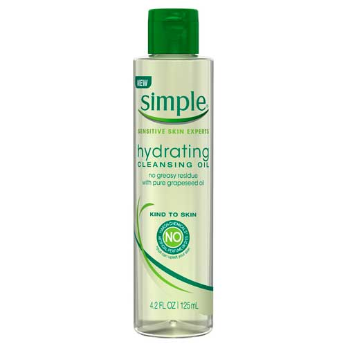 Simple Sensitive Skin Experts Hydrating Cleansing Oil