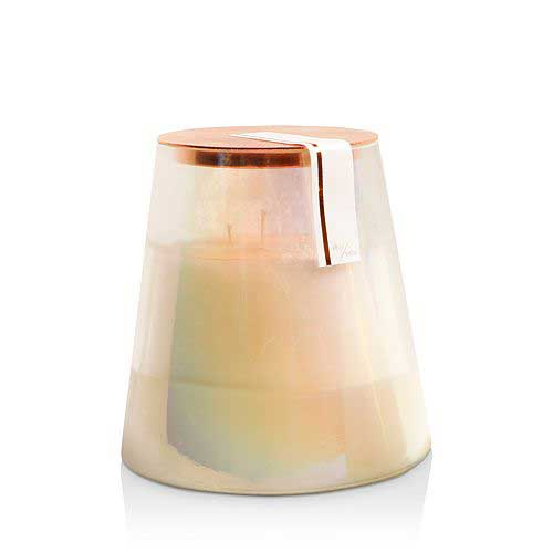 Paddywax 3-wick soy candle in ivory and twilight