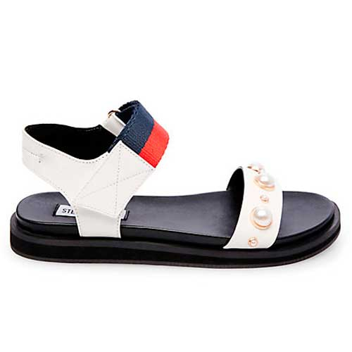 Steve Madden sporty red white and blue sandal