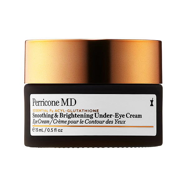 Perricone MD eye creme in a brown and bronze jar