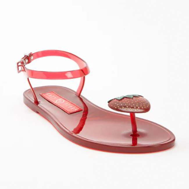 Katy Perry Collection Strawberry Scented Jelly Sandal