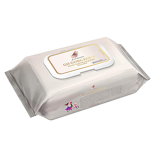 Pack of miscellar facial wipes