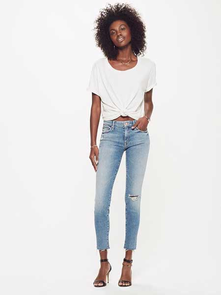 Meghan Markle fave jeans brand: Mother Denim The Looker Ankle Fray
