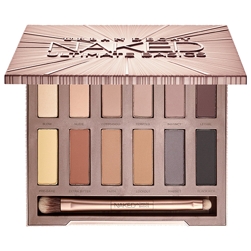Eyeshadow palette with 12 neutral shades