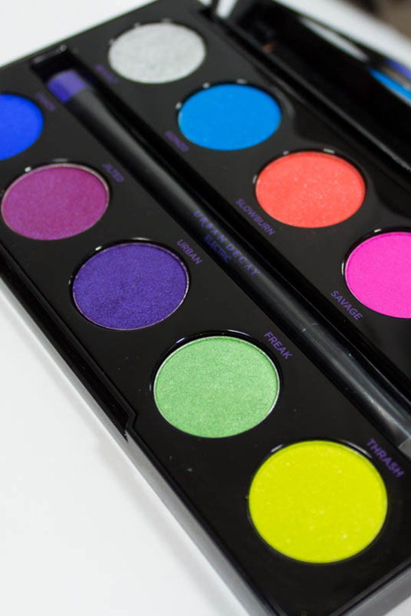 Urban Decay Electric Eye Shadow Palette Review