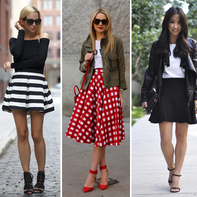 Fall Skirts: The Silhouettes and Materials I Love for this Season