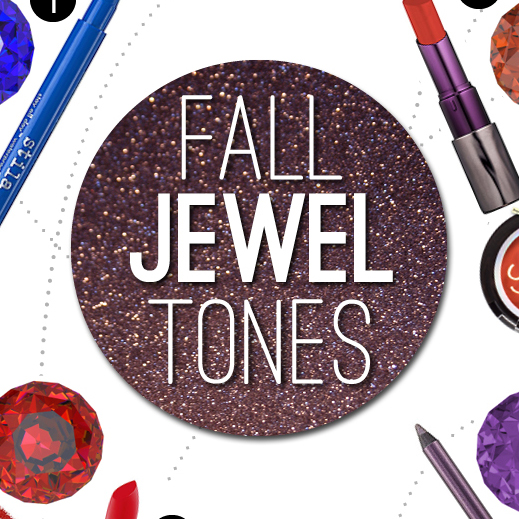 Fall Makeup Trends for 2013: Jewel Tones