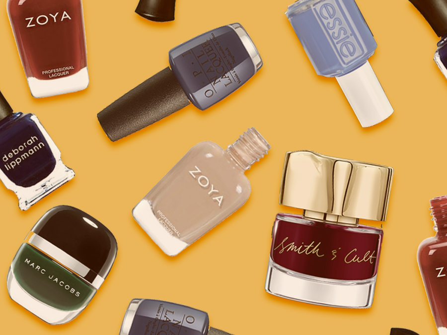 We're Absolutely Falling For These Trendy Autumn Nail Colors